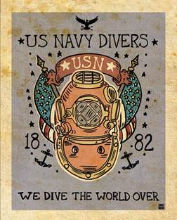 us navy divers
