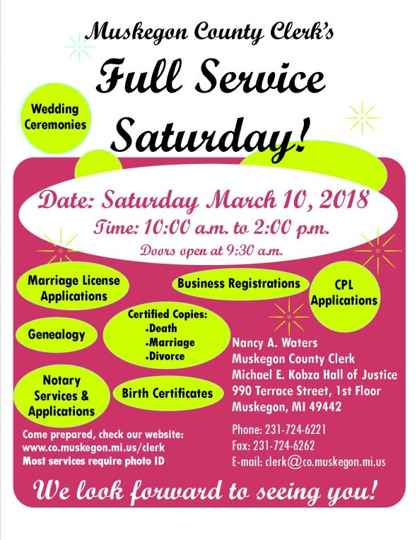 Full Service Saturday